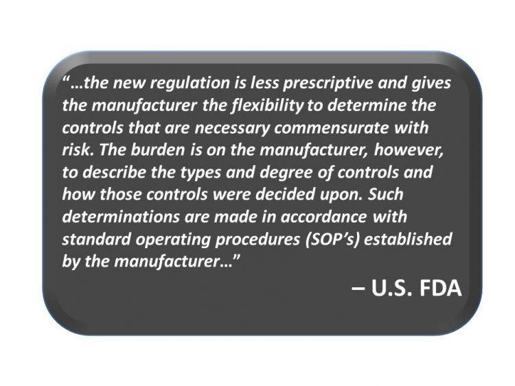 FDA risk mgnt quote 1